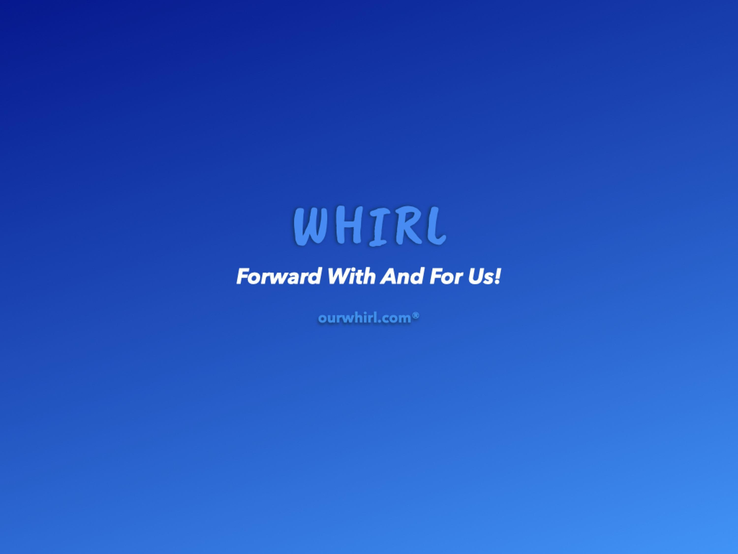 Our WHIRL Blog cover photo