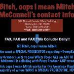 Bitch Mitch McConnell