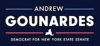 New York State Senator Andrew Gounardes Experienced leadership in Albany, and he's ON OUR SIDE and RIGHT SIDE OF HISTORY!! Visit his Senate page for more info.