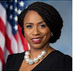 U.S. Representative Ayanna Pressley Representing Massachusetts and making history at the same time! Also an advocate, a policy-maker, an activist, and a survivor
