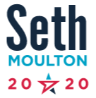 U.S. Representative Seth Moulton Former USMC officer, Iraq War Veteran currently representing Massachussetts. Seth used his organization, Serve America, to help change Washington by electing more service-driven leaders to Congress. Find out more about him!