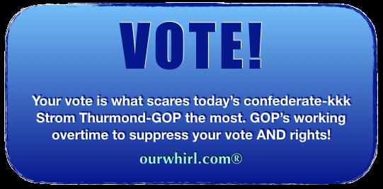 VOTE! And Vote Blue!
