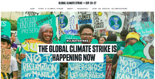 #ClimateStrike Join the movement. It's going to take all of us to end the age of fossil fuels and solve the climate crisis.