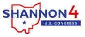 Shannon Freshour Ohio (OH-04). Protect the ACA, vote for a public option, protect Medicare. Middle-Class Tax Cuts & Economic Stability.