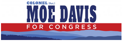 "Colonel (Retired) Morris ""Moe"" Davis US House Democratic nominee for NC 11. Air Force Colonel (Ret.), Ex-Guantanamo Chief Prosecutor, husband, father. Donate: https://secure.actblue.com/donate/moedavis4nc11"