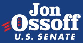 Jon Ossoff Leadership Georgia needs. Help Ossoff defeat corrupt David Perdue, to move Georgia towards a better, sane future for all.