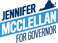 Jennifer McClellan Richmond, VA progressive legislator. 2021 Virginia candidate for Governor. Passed landmark laws to invest in education, health care access and protect reproductive rights, and made VA 1st Southern state to pass a state-level Voting Rights Act.
